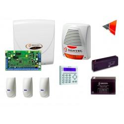 Kit allarme BENTEL ABSOLUTA 16 completo batterie 8 e 16 zone