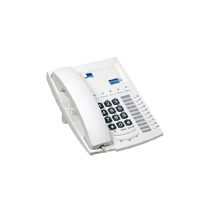 St201 esseti telefono bca colore grafite e perla 15 tasti - Telefono fisso design ...