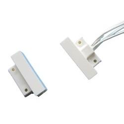 Microcontatto magnetico in plastica per montaggio a vista