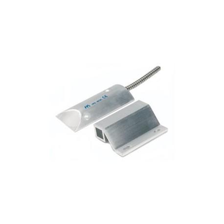 Contatto magnetico in alluminio per uso industriale.