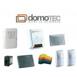 Kit allarme DOMOTEC PRIMOKIT 8 zone completo con sensori, attivatore, tastiera, sirene e chiavi