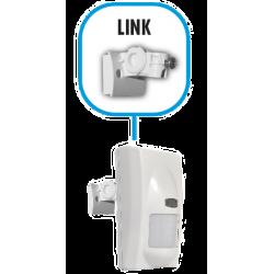 Snodo LINK bivalente parete e soffitto per sensori ZEFIRO