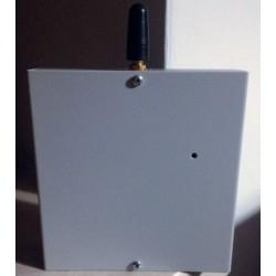 Combinatore Telefonico GSM ASCOLTO AMBIENTALE contenitore METALLICO 3 ingressi