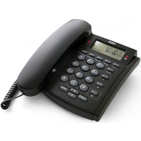 Telefono fisso multifunzione BCA Saiet NUOVO CONCERTO 1 grigio scuro NO BATTERIE