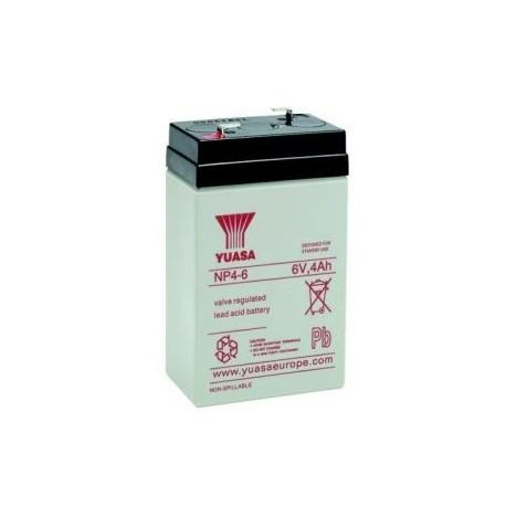Batteria allarme YUASA SERIE NP 6V 4 ah B640Y