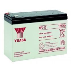 Batteria allarme YUASA SERIE NP 12 V – 7Ah B1270Y
