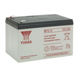 Batteria allarme YUASA SERIE NP 12 V – 12 Ah B12120Y