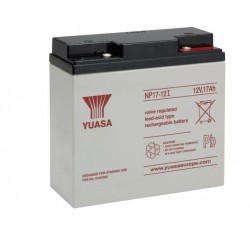 Batteria allarme YUASA SERIE NP 12 V – 17 Ah B12170Y