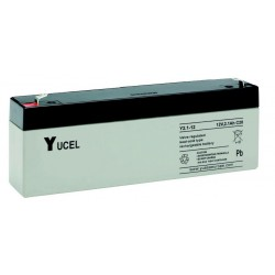 "Batterie allarme, antincendio, al piombo YUASA – serie ""Yucel"" 12V 2,1 ah B1219YL"