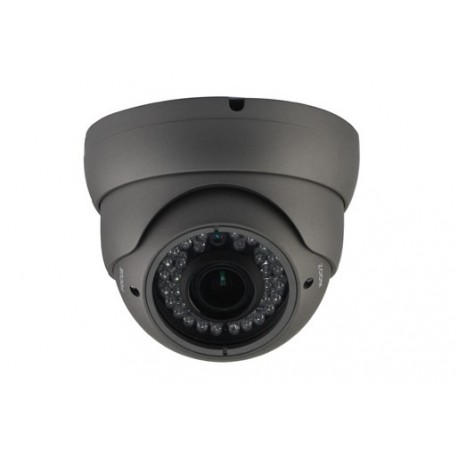 Telecamera DOME ALTA RISOLUZIONE ANTIVANDALO 720TVL VARIFOCAL 2.8 - 12mm 36 led 30mt Sony EFFIO-P