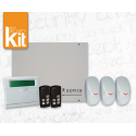 Kit Allarme Wireless AMC R400 con tastiera e IF400 e telecomando