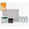 Kit Allarme Wireless AMC R400 con tastiera e IF400 e telecomando