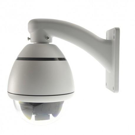telecamera Mini Dome Motorizzata Zoom ottico 10X 650 linee Lente varifocale 5.5~55 mm