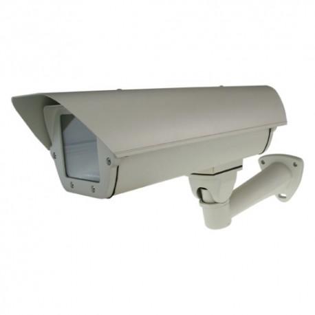 Custodia per telecamera - Ventilatore e Riscaldamento - Dimensioni esterne: 112 x 140 x 410 mm