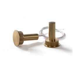 Contatto magnetico Allarme potenziato da incasso in ottone per casseforti e portoni