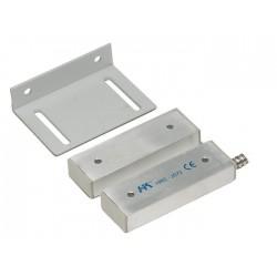 Contatto magnetico allarme in alluminio per portoni scorrevoli o cancelli