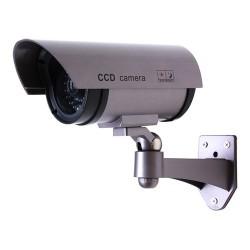Telecamera finta videosorveglianza non operativa con Led di segnalazione con batterie incluse