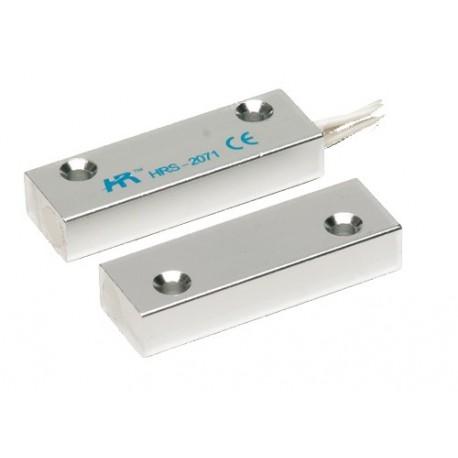 Contatto magnetico Allarme in alluminio ultraleggero montaggio a vista porte e finestre
