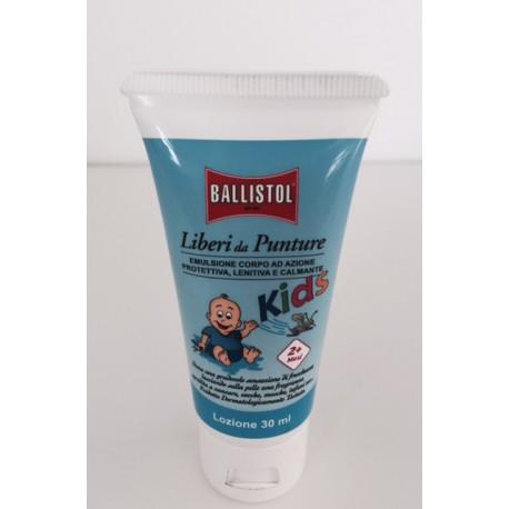 Crema protettiva BALLISTOL Liberi da punture KIDS per bambini 30ML