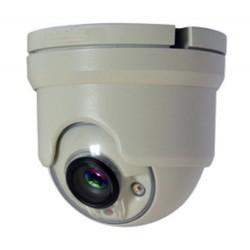 Telecamera mini Dome AHD a colori 720P ottica fissa 3.6mm 2 Led portata 20 mt,