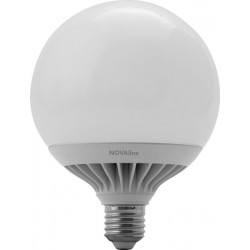 Lampadina led Globo Novaline LGL100C 15W E27 luce calda 3000K