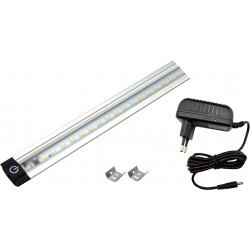 Kit barra led 80cm 8W KIT500 Novaline con alimentatore luce naturale