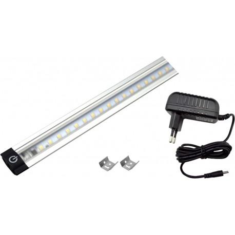 Kit barra led 80cm 8W KIT500 Novaline con alimentatore luce naturale