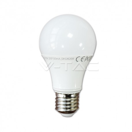 Lampadina VTAC VT1853D 4282 a LED Bulbo Globo E27 10W luca calda dimmerabile