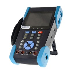 "Tester monitor LCD 3.5"" per telecamere TVI AHD CVI CVBS HD-SDI analogico"