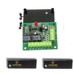 Kit scheda chiave attivatore KROS Technik Key 2 con adattatori Btcino Vimar