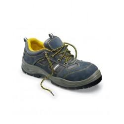Scarpa antinfortunistica alta da lavoro puntale acciaio antiperforazione grigia