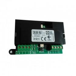 IB100-RU INIM Isolatore bus per centrali Smartliving rigenerazione dati e morsetti a vista