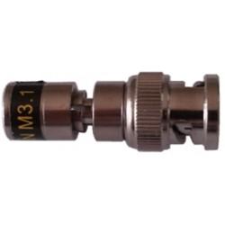 Conf. 10 pz connettore Bnc a compressione Betacavi per cavo HD4019 505033