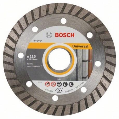 2608602393 Bosch Disco da taglio diamantato universale 115mm