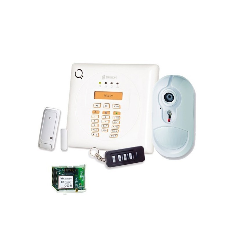 bw30 kv kit allarme wireless bentel serie bw con