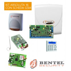 ABS-16 Kit allarme bentel Absoluta 16 con GSM