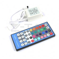 Controller telecomando per striscia a led RGB + W WHITE VTAC 3326 40 tasti