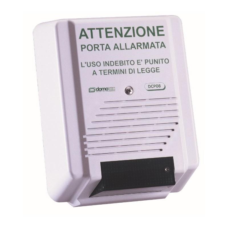 Sirena controllo porte di sicurezza domotec dcp08s con for Porte di sicurezza