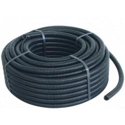 100mt Tubo corrugato flessibile nero diametro 20 per impianti elettrici