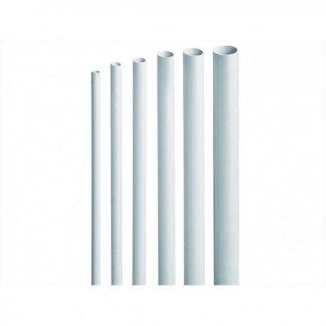 Tubo rigido liscio da parete per impianti elettrici diam. 16 20 25 30 Elettrocanali