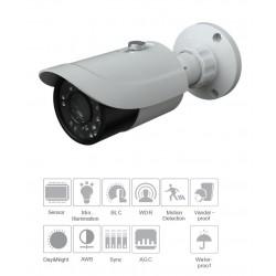 Telecamera HD TVI ottica fissa 3.6mm 2mpx 1080p fino a 30mt