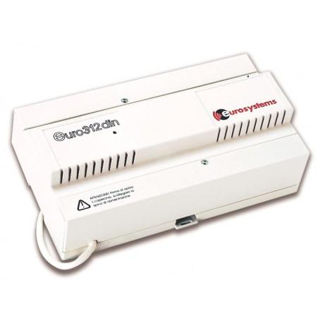 EURO28din Eurosystems centralino telefonico A200E 2 linee esterne 8 interni intefaccia citofonica