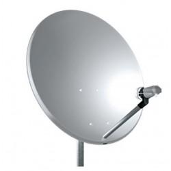 Kit Parabola Telesystem TEF80 80 cm per SKY con LNB singolo Emmesse