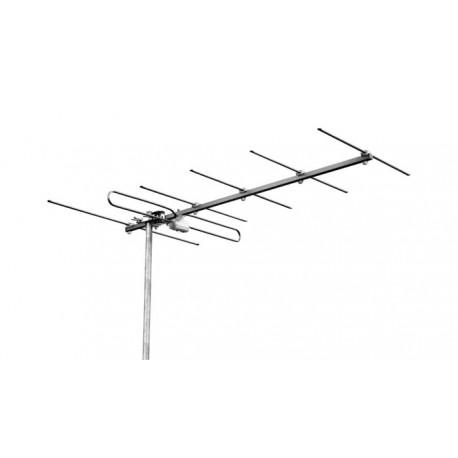 Antenna TV VHF 4W3D EMMEESSE 4 elementi III Banda 5-12 canali digitale terrestre