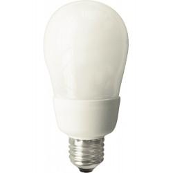 5 pz. Lampadina risparmio energetico fluorescente E27 14W equivalente 65W luce calda 2700k