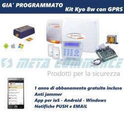 Kit allarme Bentel Kio8w doppia tecnologia con batterie