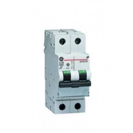 Ge power Interruttore MAGNETOTERMICO 1P+N con portatarghetta 4,5ka