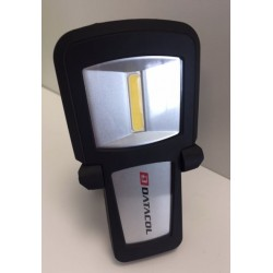 Torcia tascabile lampadina a led Cob ricaricabile DATACOL calamitata