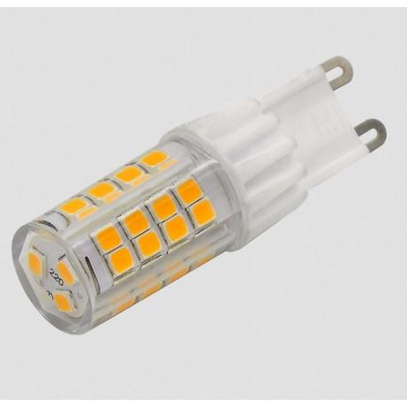 kit 4 pezzi lampadina a led G9 7W Ceramica e PVC