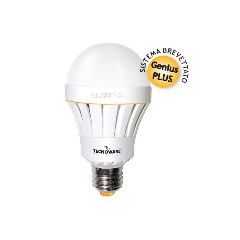 Aladino tecnoware lampada di emergenza a led 10w luce for Lampada di emergenza a led